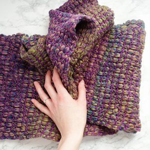 Simons Multicolored Infinity Scarf